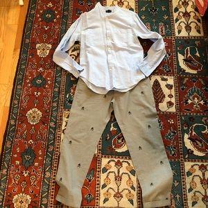Brooks Brothers lightweight logo pants.